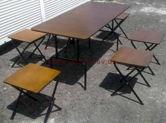 Комплект складной мебели РФК-3