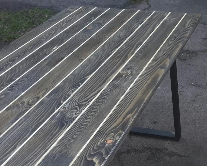 Стол раскладной тонированный 1