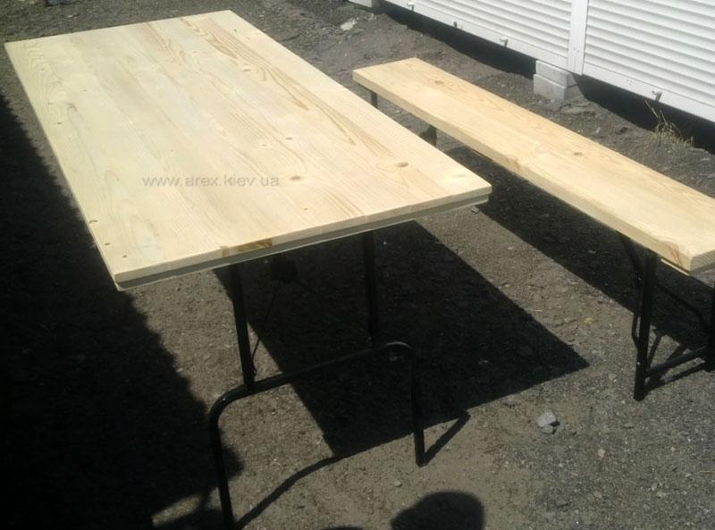 Стол раскладной из дерева
