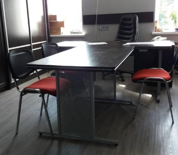 Каркас для офисного стола Куба+