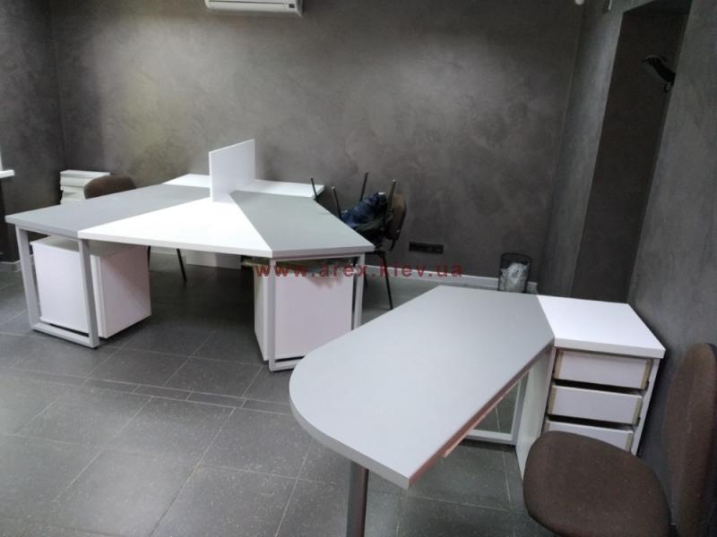 Металлические опоры для офисных столов Куба