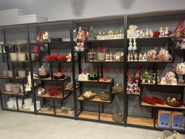 Стеллаж сувенирный магазин 1
