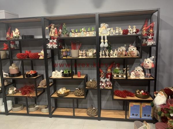 Стеллаж сувенирный магазин 2
