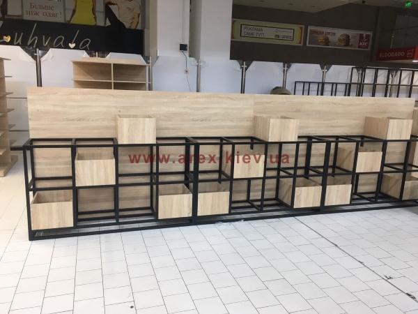Металлическая мебель для кафе 1