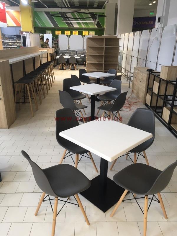 Металлическая мебель для кафе 5