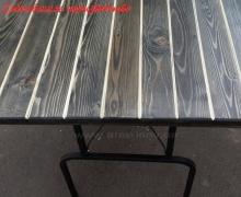 Стол раскладной тонированный 2