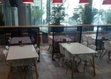 Перегородки для зон в кафе 1