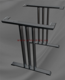 Металлический каркас стола Трио