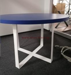 Металлическая опора для круглого стола R09 loft 3